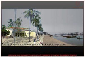 REQUALIFICATION DE LA PLACE FAIDHERBE ET L'AVENUE JEAN MERMOZ A SAINT LOUIS - SENEGAL (4)